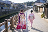 Mother and daughter walking along river on coming of age day (Apricot Cafe) Tags: img76854 asia asianandindianethnicities healthylifestyle japan japaneseethnicity japaneseculture katoricity kimono sawarakatori tamronsp35mmf18divcusdmodelf012 adult backlit buildingexterior candid carefree celebration ceremony charming chibaprefecture colorimage cultures daughter edoperiod family formalwear fulllength furisode grace hairstyle happiness lifestyles mother onlyjapanese onoriverchibaprefecture outdoors people photography realpeople rearview relaxation river seijinnohi smiling street sunlight sustainablelifestyle togetherness tradition traditionalclothing traveldestinations twopeople walking women youngadult