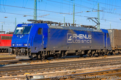 Crossrail Benelux, 186 269-7 (Thomas Naas Photography) Tags: karlsruhe gbf deutschland germany eisenbahn railways zug züge train lokomotiven locomotives fahrzeug outdoor bombardier traxx f140 ms rrl rhenus rail logistics crossrail benelux
