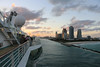 Leaving Port Miami (Rick & Bart) Tags: florida bahamas cruise cruiseship travel rickvink rickbart canon eos70d pool royalcaribbean enchantmentoftheseas miami portmiami sunset ship