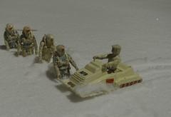AF9 patrol (Sentinel 3001) Tags: af9 toy action force figure arctic assault trooper troopers snow