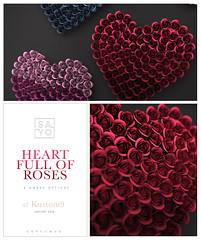 SAYO - Heart Full of Roses @ Kustom9 (Kayami Osakki (SAYO)) Tags: sayo secondlife heart roses full decor home house valentines vday rose