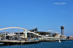 Port Vell - Barcelona (Laurent Stempfel) Tags: barcelona espagne port marinade