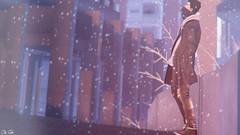 SKY'S THE LIMIT (Cub Smit) Tags: gabriel gb locktuft anaposes urban shine flare blur snow winter tmd mensdept mancave fashion male blog