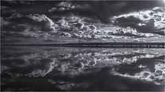 I'm coming to find you!    Explore 21/2/18 (markrd5) Tags: wirral westkirby marinelake water clouds landscape reflections nikon leefilters cure waterands