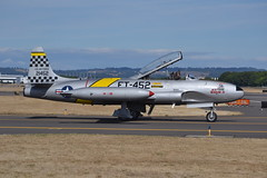 N133HH (LAXSPOTTER97) Tags: n133hh ace maker ii canadair t33 silver star cn t33452 airport aviation airplane khio 2017 oregon international airshow