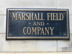 Chicago, IL Marshall Field and Company sign (army.arch) Tags: chicago illinois il departmentstore marshallfields macys sign nationalhistoriclandmark nhl