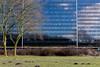 urban deflection (Rasande Tyskar) Tags: hamburg germany city nord office building bürogebäude büro hochhaus tower sky reflection deflection glas glass facade fassade himmel wolken