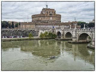Castel & Ponte S. Angelo, Rome