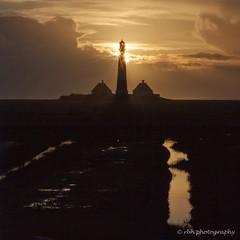 Westerhever Lighthouse (rbh photography) Tags: lighthouse leuchtturm westerhever sonnenuntergang sundowner abend meer nordsee northernsea ocean sun