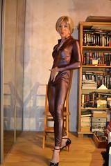 DSC_0053 (magda-liebe) Tags: crossdresser french highheels tgirl shoes travesti wetlook catsuit