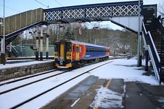 East Midlands Trains 153379 @ Kidsgrove (uksean13) Tags: 153379 eastmidlandstrains diesel kidsgrove snow canon 760d efs1855mmf3556