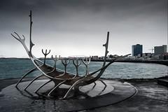 Islande, Reykjavik, 24 (Patrick.Raymond (5M views)) Tags: isalne reykjavik mer hdr nikon ville cité port building