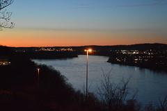 Fort Boreman at Sunset Parkersburg, WV (Dinotography24) Tags: fort boreman park parkersburg wv westvirginia ohio river