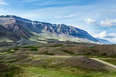 Eyjafjordur Iceland (Einar Schioth) Tags: leyningsholar trees tree day summer sky sunshine sun eyjafjordur canon clouds cloud cliff river blusky nationalgeographic ngc nature mountains mountain landscape photo picture outdoor iceland ísland einarschioth