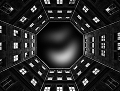 Berlin courtyard (stefan.lafontaine) Tags: europe deutschland germany berlin courtyard backyard hinterhof urban fine art black white schwarz weiss blanco y negro blanc et noir blackandwhite schwarzweiss blancoynegro blancetnoir monochrome olympus em1 panasonic 714 mm