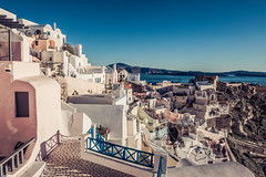 Oia,Santorini (Vagelis Pikoulas) Tags: oia thira sky santorini greece cyclades kyklades island blue winter january 2018 tokina 1628mm landscape village weather canon 6d sea seascape greek europe