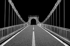 Road to nowhere.jpg (___INFINITY___) Tags: 6d aberdeen bw godoxad360 wellingtonsuspensionbridge architect architecture building canon canon1740f4 darrenwright dazza1040 eos fineart flash infinity light lightpainting night scotland strobist