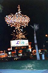 Found Photo of Stardust Hotel Sign, Las Vegas