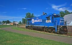 Still Looks Like Conrail (craigsanders429) Tags: conrail conraillocomotives ohirail minervaohio shortlinerailroads ohioshortlinerailroads u23b b237r gelocomotives ohic