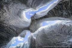Icy Slot (David Swindler (ActionPhotoTours.com)) Tags: alberta banff canada canadianrockies snow winter canyon ice slot slotcanyon