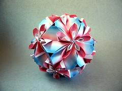 Almond - Ekaterina Lukasheva (Rui.Roda) Tags: origami papiroflexia papierfalten modular kusudama floral almond ekaterina lukasheva