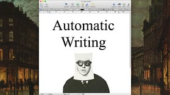 """Automatic writing VS """"just write"""" 