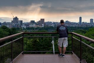 View from Fukuoka Castle