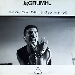 1988_à;GRUMH..._We_Are_à;GRUMH..._And_You_Are_Not (Marc Wathieu) Tags: rock pop vinyl cover record sleeve music belgium coverart belgique pochette cd indie artwork vinylcover sleevedesign 1988 àgrumh… belgië