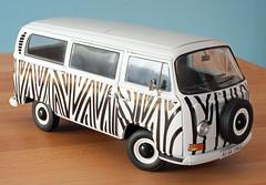 Schuco Bulli (Schwanzus_Longus) Tags: delmenhorst die cast model replica 118 fahrzeug auto schuco volkswagen vw t2 t2a bus transporter window van bully bulli