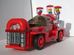 Gumball Machine (2/2) - FebRovery 2018 22 (captain_joe) Tags: toy spielzeug 365toyproject lego minifigure minifig moc febrovery jukebox