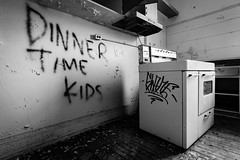 IMGP7481-Edit (Drew's Arcade) Tags: traverse city state hospital michigan pure abandoned asylum bnw black white