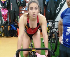 Alba Álvarez triatlón Indoor team clavería triatlón World 7