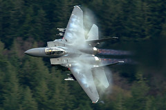"""Farewell to the Mighty E"" (PhoenixFlyer2008) Tags: usafe mcdonnelldouglas f15e strikeeagle lakenheath vapour 492ndfs madhatters bolars machloop lowlevel speed canon ribbons lowfly low flying boeing military weareliberty combat aircraft aviation"