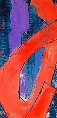 THE SHAPE OF ORANGE (Betsy Miller2011) Tags: contemporary paletteknife expressionism abstract orange