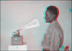 An Accidental Stereoview (ookami_dou) Tags: vintage africa southwestafrica namibia 1931 lichtenecker ethnology anthropology negative stereoview anaglyph recording waxcylinder