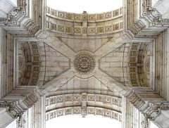 Lisboa, antique architecture (duqueıros) Tags: lissabon lisboa lisbon portugal stadt city architektur architecture dach roof antik antique symmetrie symmetryduqueiros