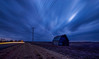 Platte County Rural Barn (KC Mike Day) Tags: barn trails light clouds storm evening dusk rural field farm exposure long missouri