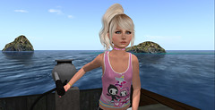boat trip (ڪJoannaڪ) Tags: avil girl child secondlife sl