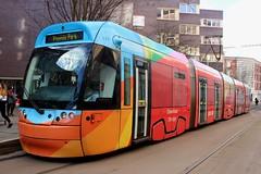 Nottingham Express Transit: 210 Nottingham Trent University (emdjt42) Tags: tram nottinghamexpresstransit 210 nottingham