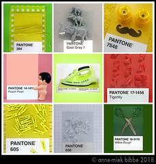 9x PANTONE 7 (Anne-Miek Bibbe) Tags: pantone kleuren colors farben colori colores cores canoneos700d canoneosrebelt5idslr annemiekbibbe bibbe nederland 2018 speelgoed toy spielzeug giocattoli juguetes bringuedos jouets plastic