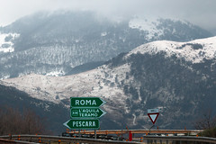 In the middle of Italy (luigig75) Tags: mountains abruzzo italia italy landscape montagne snow tamronsp150600mmf563divcusd canon 70d
