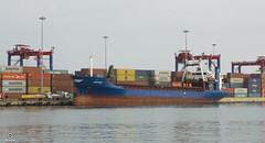 SUNSHINE - GEMİSİ (Seyfettin Gundogdu) Tags: mersin liman port mersinlimanı sea sky logıstıc lojistik yük cargo ship sunshine