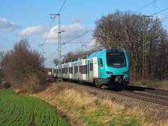 Keolis ET4.03 (jvr440) Tags: trein train spoorwegen railroad railways salzbergen keolis eurobahn flirt 3