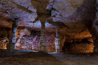 Carrière de calcaire limestone quarry