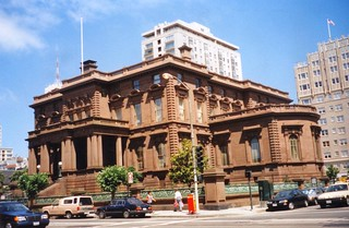 San Francisco California ~ The Pacific-Union Club - Old 1998 Film