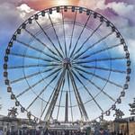 Paris France - The Roue de Paris - Ferris Wheel - thumbnail