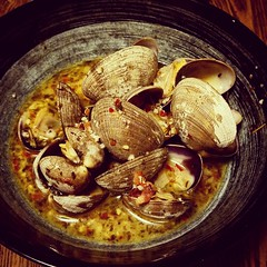 Clams in wine broth (Robert_Brown [bracketed]) Tags: robertbrown photography photo portland oregon instagram squareformat color 2018 winter clams wine broth