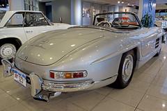 1957 Mercedes Benz 300 SL Roadster --- EXPLORED! (Pat Durkin OC) Tags: 1957mercedesbenz 300sl roadster silver