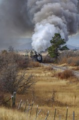 Music in the Valley (Erik C. Lindgren) Tags: coloradorailroads coloradotrains newmexico colorado riogranderailroad denverriograndewestern narrowgauge steamengine steam steamlocomotive steamtrains