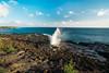 Blowhole in Kauai (8mr) Tags: blow hole blowhole kauai hawaii nature landscape wide angle poipu